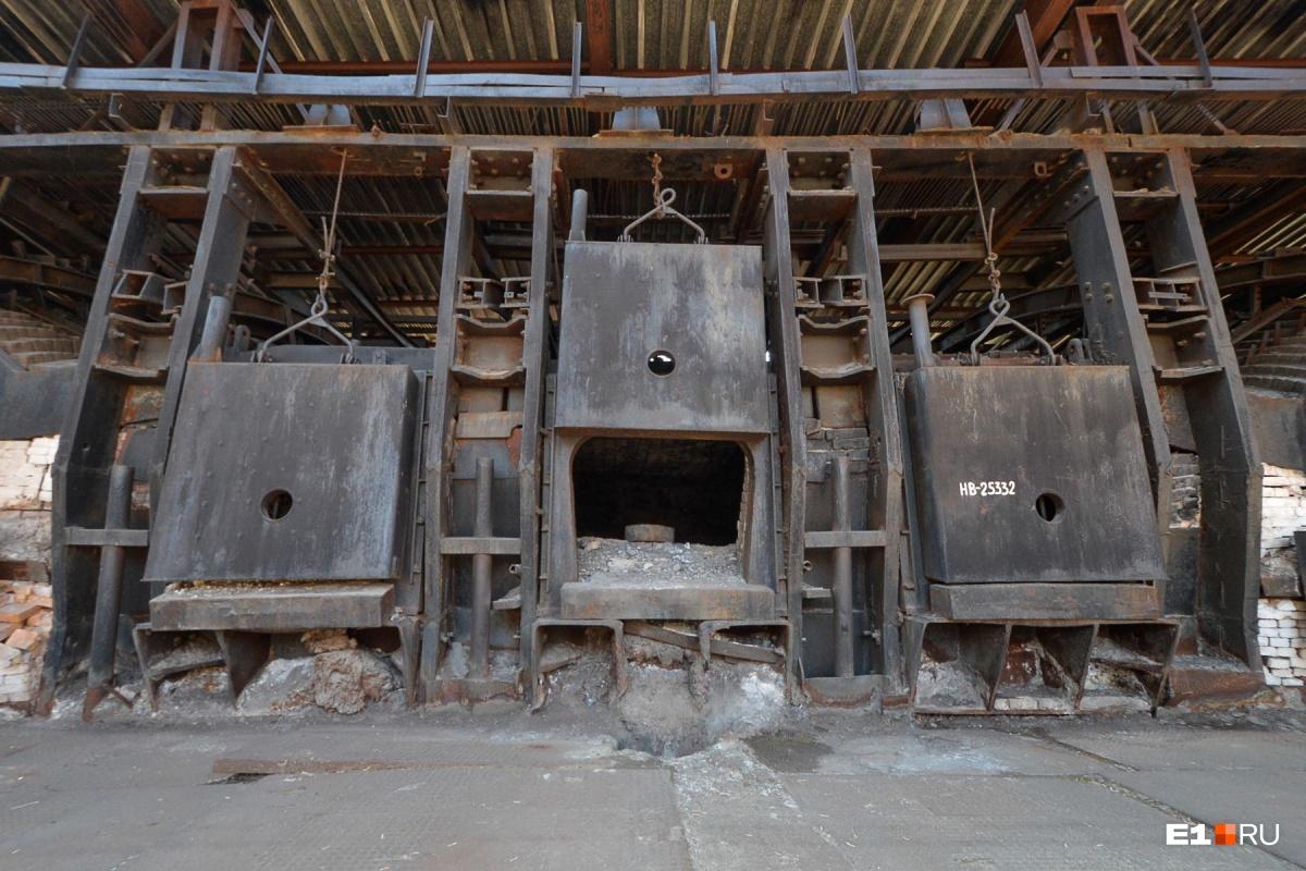 Мартеновские печи появились на заводе уже в конце XIX века