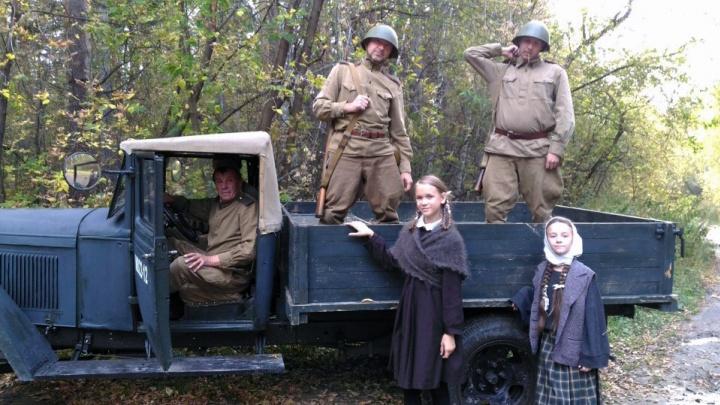 В Новосибирске сняли фильм о войне, в котором убивают шоумена Севу Мокина