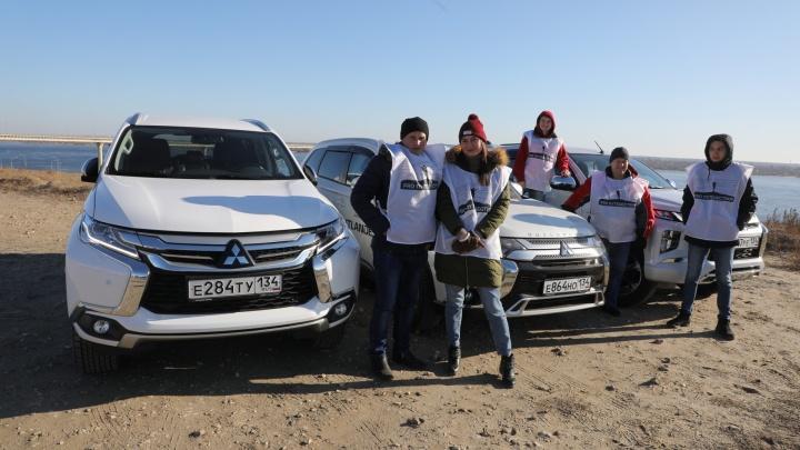 «Курс — на Север!»: волгоградцы отправились в экстримпутешествие по Волгоградской области