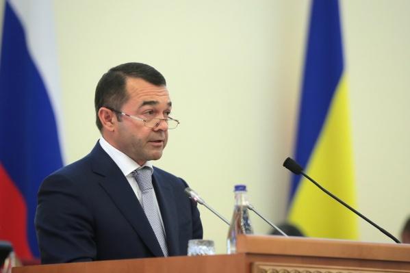 Юрий Молодченкокурировал вопросы экономического развития Ростовской области
