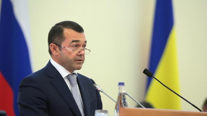 Губернатор Ростовской области освободил от должности своего заместителя