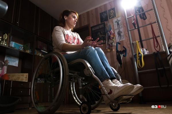Девушка утратила чувствительность ног, но не любовь к жизни
