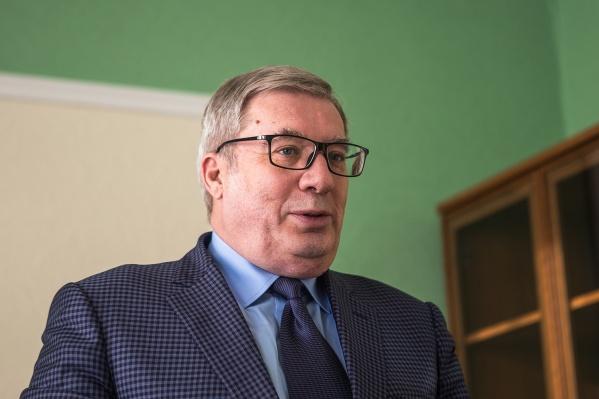Виктор Толоконский стал советником президента «РАТМ-холдинга» Эдуарда Тарана