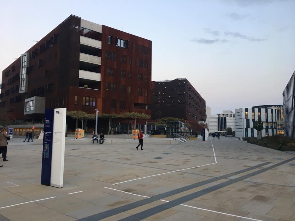 Кампус университета, где учится Галина