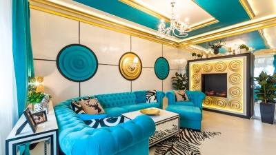 Лепнина, фрески и дизайнерские обои: создаем дома интерьер не как у всех