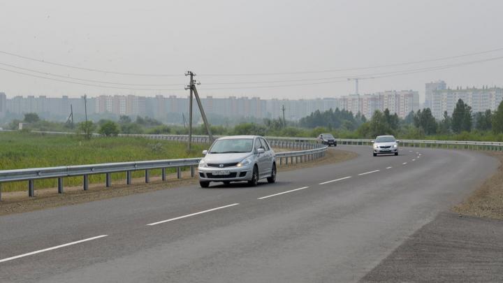 В Кургане завершили ремонт моста через реку Чёрную