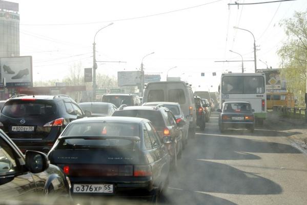 В ГИБДД сообщили, что с каждым днем пробки будут увеличиваться