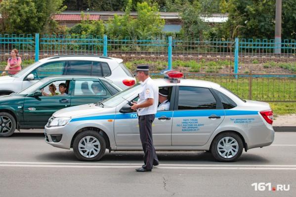 Сотрудники ГИБДД остановили автобус в ходе очередного рейда