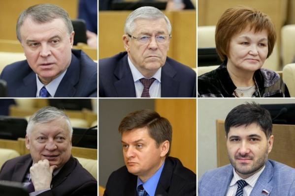 Шестеро депутатов Госдумы, представляющих Тюменскую область, поддержали закон, позволяющий наказывать за неуважение к власти. Все они члены «Единой России»