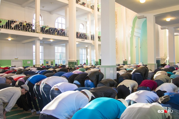 Всего в Самарской области 96 мечетей