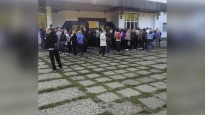 В Ярославле родители устроили давку, чтобы отдать детей в спецшколу
