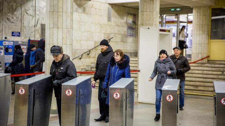 Полиция по тревоге оцепила станцию метро «Речной вокзал»