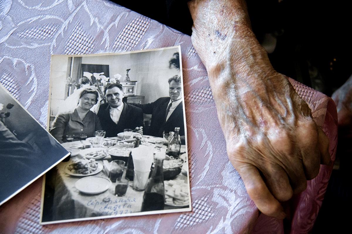 Они поженились в 1947 году
