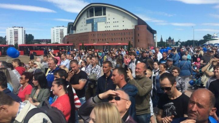 В Ярославле в День города перекроют центр и пустят транспорт допоздна