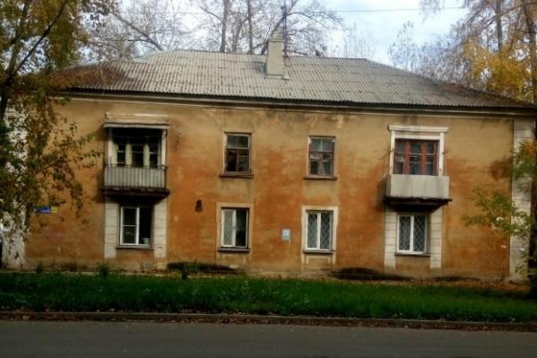 Сейчас на улице Культуры стоят старенькие двухэтажки