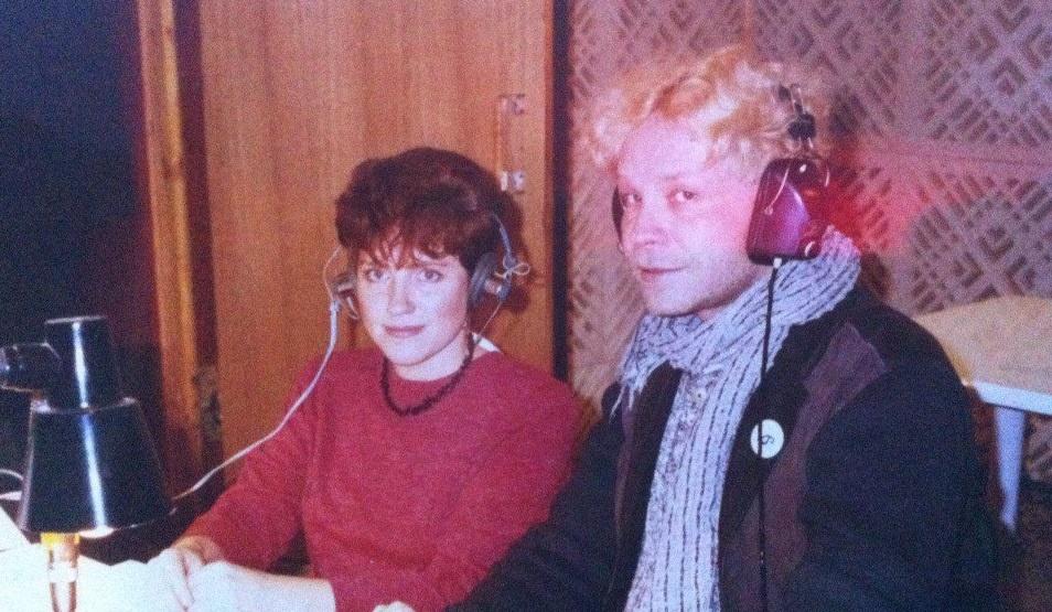 Молодая ЕленаГельфанд с молодым Борисом Моисеевым