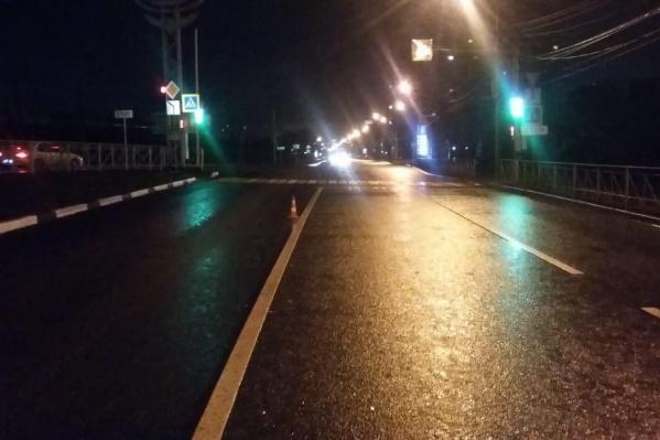 Во время ДТП в Первомайском районе лил сильный дождь