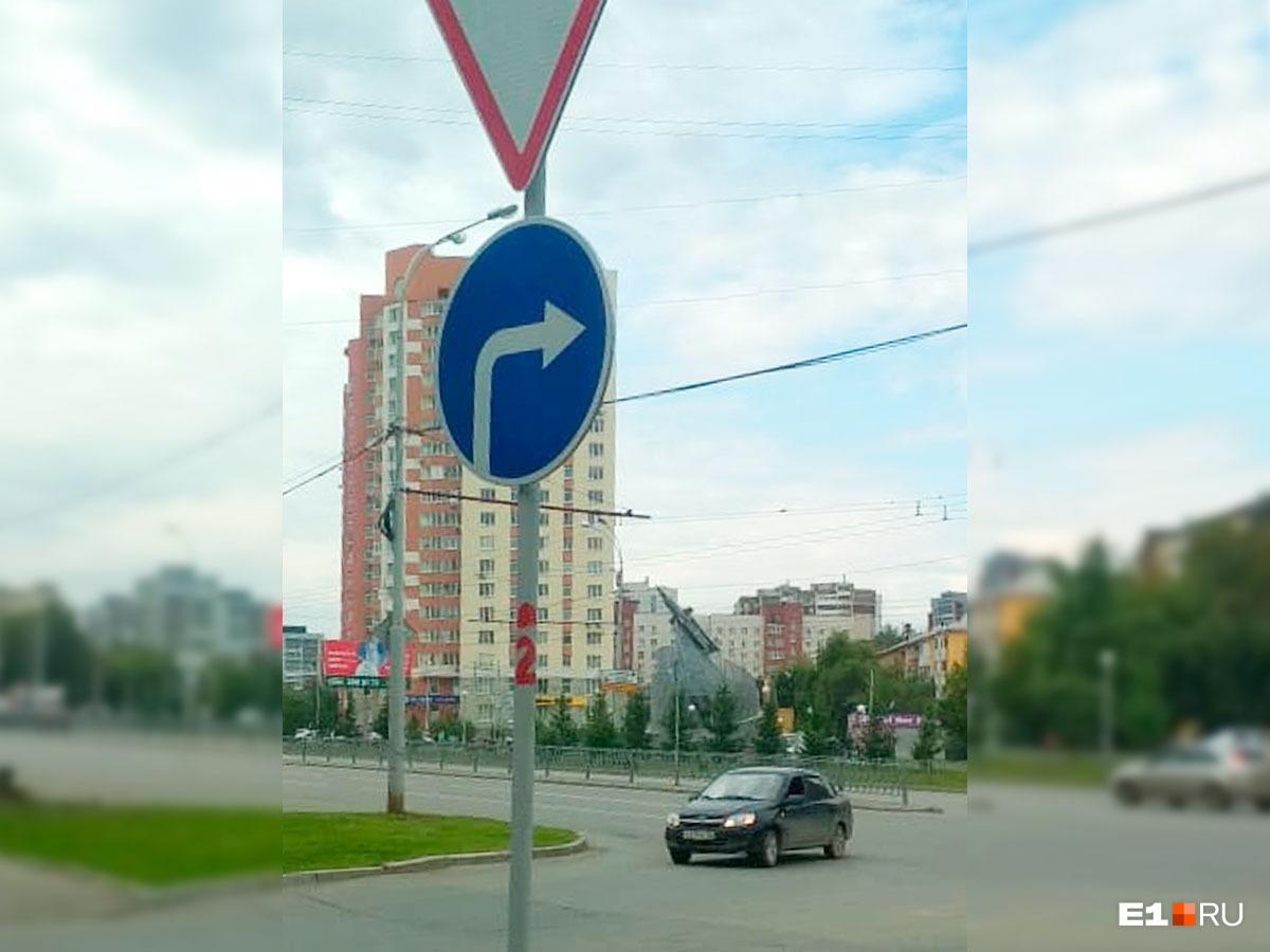 С Войкова теперь можно поворачивать только направо