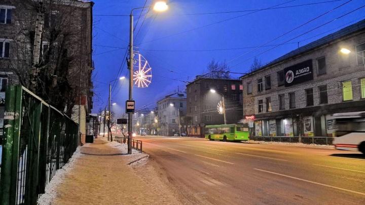 С похолоданием Красноярск вновь затянуло едким туманом