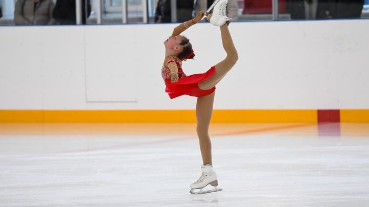 В Екатеринбурге отремонтировали арену, на которой занималась Липницкая. Фото с первых выступлений