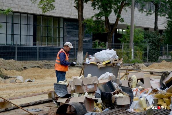 Дорожники уже приняли отремонтированную улицу Советскую