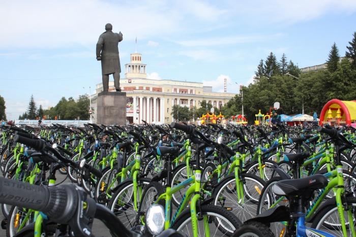 Велосипеды до вручения