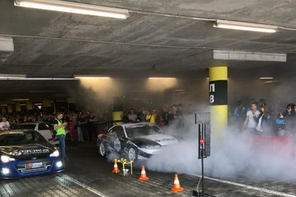 Победил Артур Волчанский на автомобиле Toyota Altezza