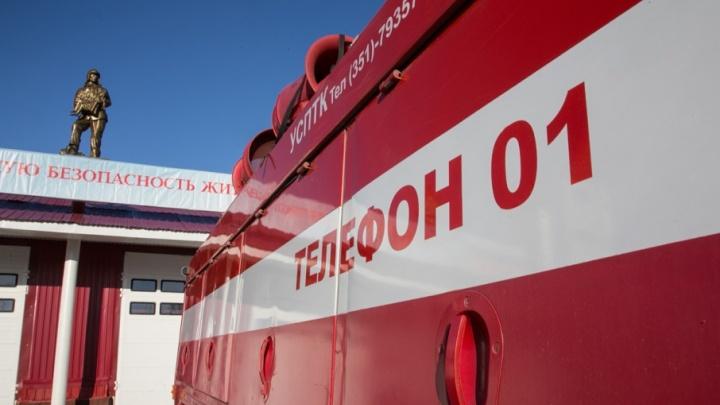 В Башкирии сгорели 30 тонн сена