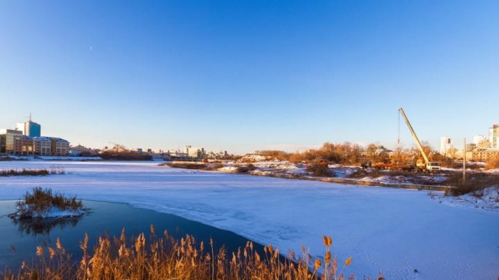 За право построить искусственный остров под конгресс-холл в Челябинске заплатят четыре миллиона рублей