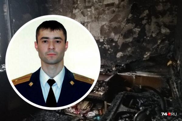 Вагиф Магеррамов работает начальником кинологической службы полка по охране важных государственных объектов и специальных грузов