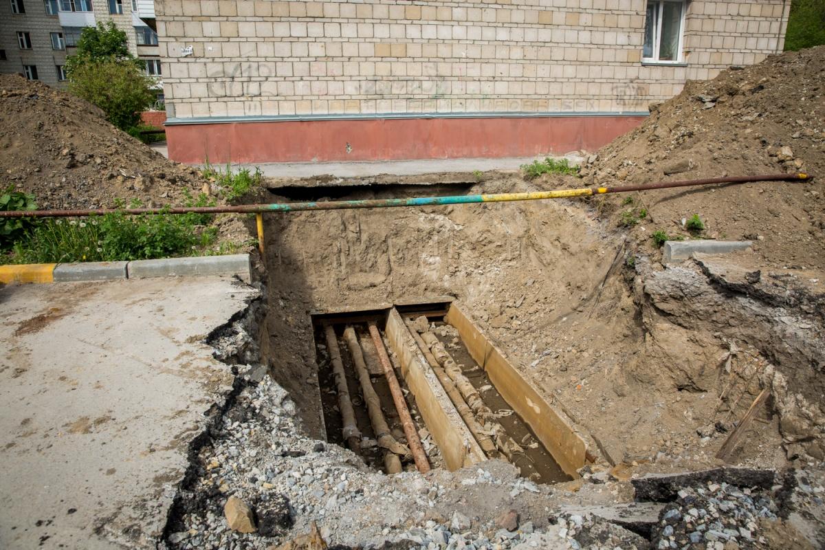 Горячую воду жителям включат 24 июня