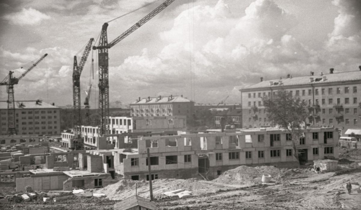 Стройка жилых домов