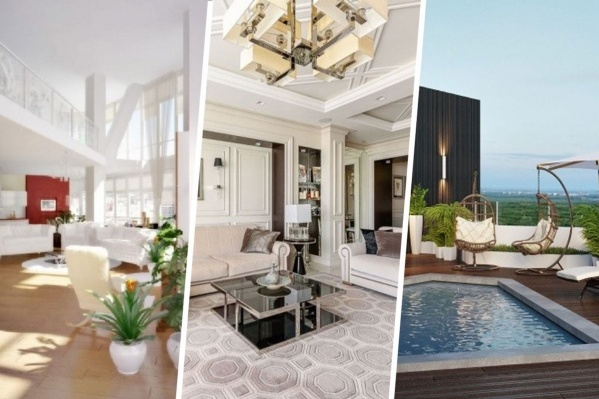 Интерьеры трех самых дорогих квартир