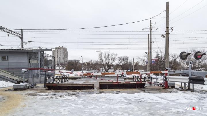 Итого пять месяцев: в Волгограде ремонт переезда на Тулака продлили до мая 2019 года