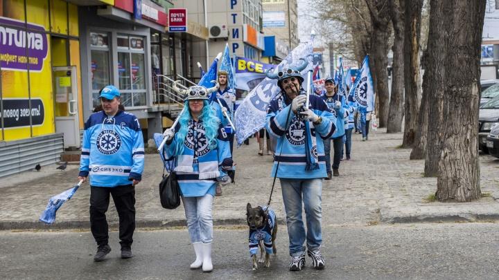 Новосибирец заплатил штраф за марш болельщиков ХК «Сибирь», а клуб возместил деньги