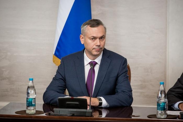 Андрей Травников прибыл в Новосибирск в ночь на 9 октября