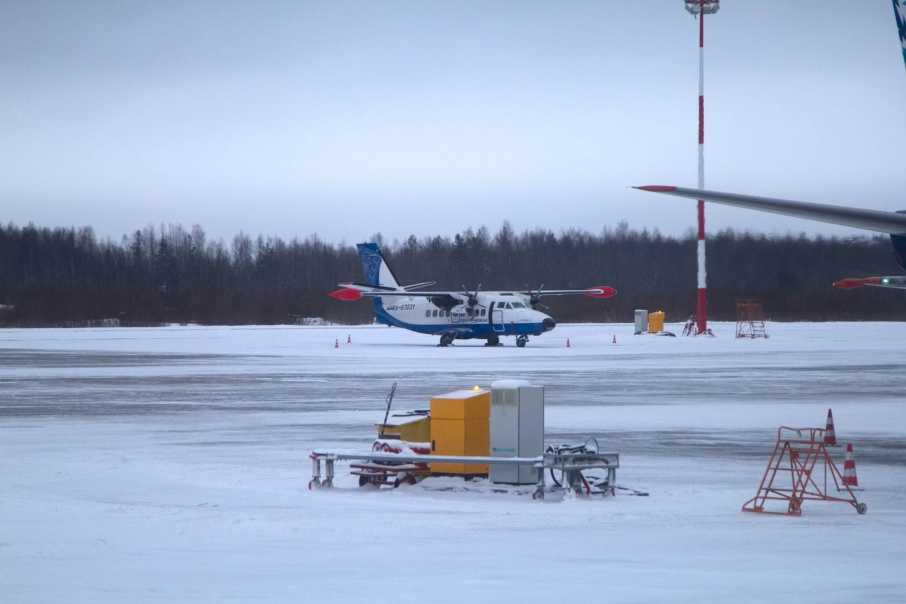 Ан-2- незаменимый самолет для связи районов с Архангельском