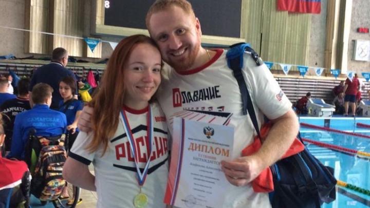 «Никакие болезни не страшны»: спортсменка с «крыльями» везет в Волгоград две медали Кубка России