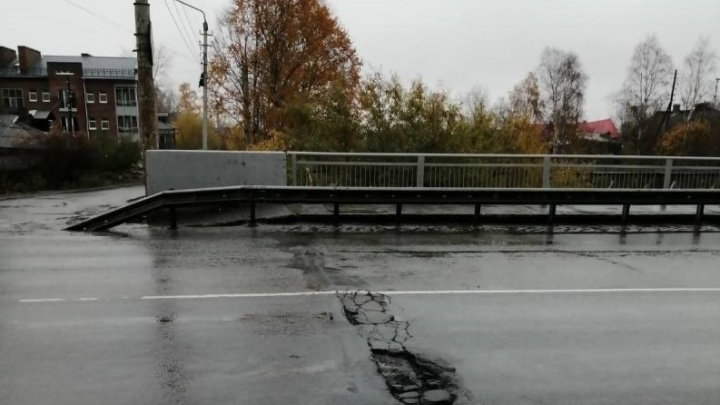 Мост через Соломбалку с 21 октября частично закроют для движения транспорта