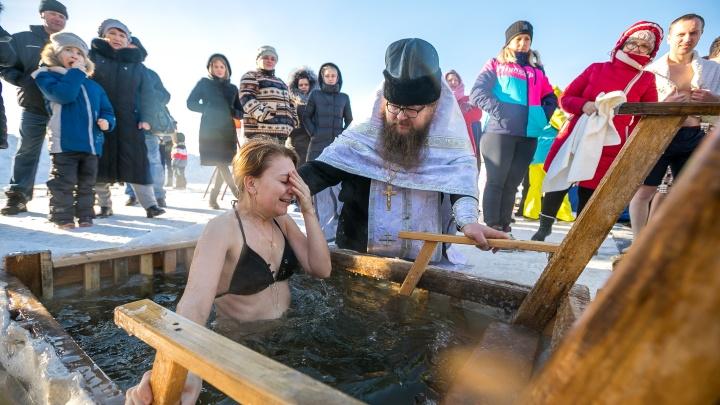 «Всё превратилось во флешмоб»: где и как можно будет искупаться в Красноярске на Крещение