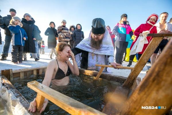 В этом году, как и в прошлом, в окрестностях Красноярска будет три места для купания
