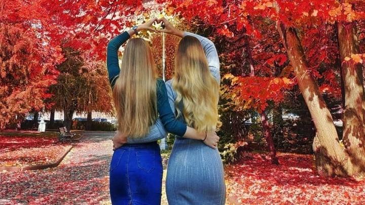 Девушки, осень, Волгоград: смотрим на красоток и любуемся городскими пейзажами