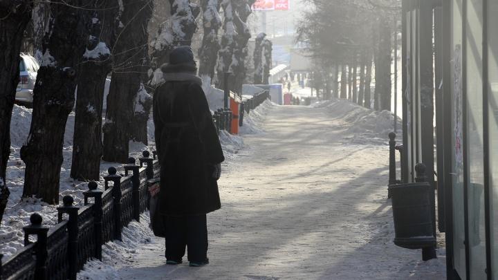 С началом предновогодней недели в Омск придут сильные морозы