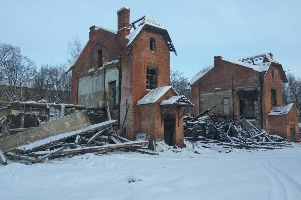 Здание постройки 1925 года практически утеряно