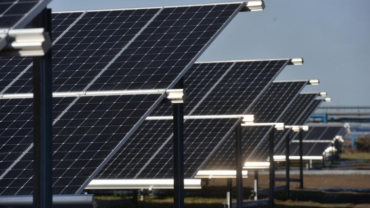 В Омске построили первую электростанцию на солнечной энергии