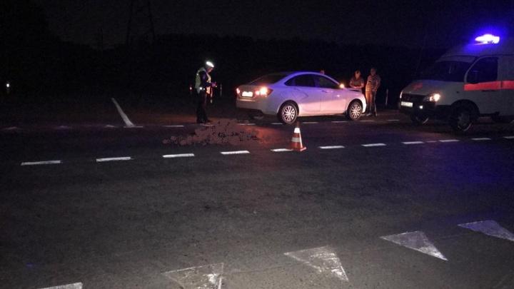 Скончалась на месте: в Неклиновском районе легковой автомобиль сбил пешехода