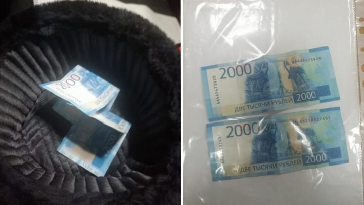 В Богучанах пьяный водитель подсунул взятку в шапку инспектору