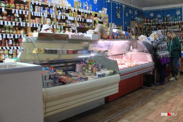 Убийство в продуктовом магазине произошло в ночь на 23 октября