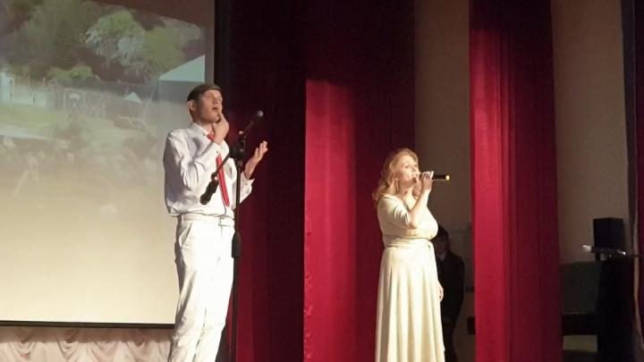 В Башкирии на военно-патриотическом конкурсе исполнил песню глухонемой певец