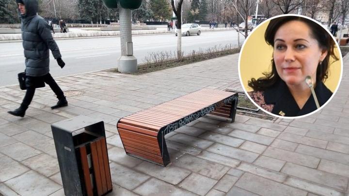 Глава департамента ЖКХ обвинила ростовчан в том, что они загрязняют город
